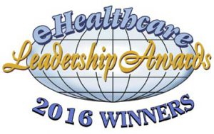 eHealthcare Leadership Award logo